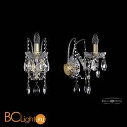 Бра Bohemia Ivele Crystal 1411B/1/160/XL/G