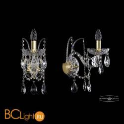 Бра Bohemia Ivele Crystal 1411B/1/195/XL/G