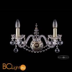 Бра Bohemia Ivele Crystal 1411B/2/160/G/Balls