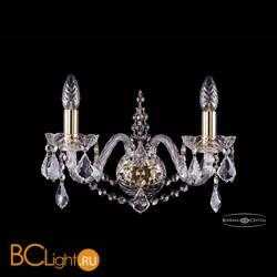 Бра Bohemia Ivele Crystal 1411B/2/160/G/Leafs