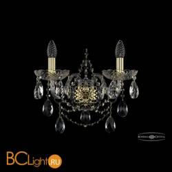 Бра Bohemia Ivele Crystal 1411B/2/160/XL/G