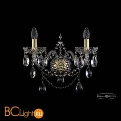 Бра Bohemia Ivele Crystal 1411B/2/195/XL/G