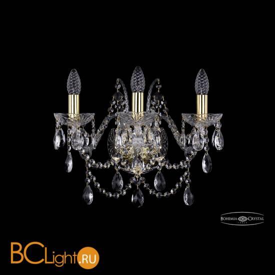 Бра Bohemia Ivele Crystal 1411B/3/160/G