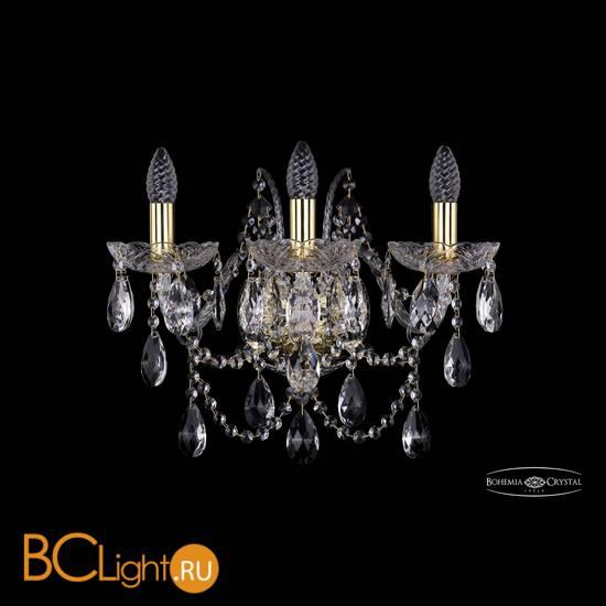 Бра Bohemia Ivele Crystal 1411B/3/160/XL/G