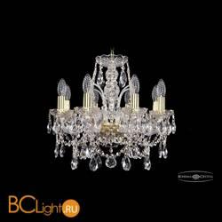 Люстра Bohemia Ivele Crystal 1411/8/141/G