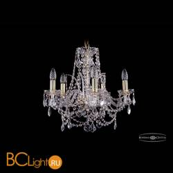 Люстра Bohemia Ivele Crystal 1411/5/160/G/Leafs