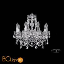 Люстра Bohemia Ivele Crystal 1411/8/160/Ni