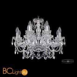Люстра Bohemia Ivele Crystal 1411/8+4/195/Ni