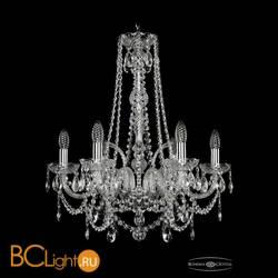 Люстра Bohemia Ivele Crystal 1411/6/195/h-62/Ni