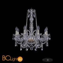 Люстра Bohemia Ivele Crystal 1411/8/195/h-65/G