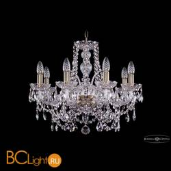 Люстра Bohemia Ivele Crystal 1411/8/195/Pa