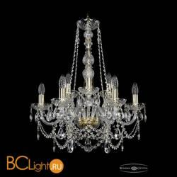 Люстра Bohemia Ivele Crystal 1411/6+3/195/h-66/G