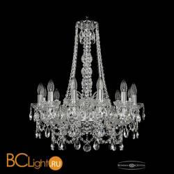 Люстра Bohemia Ivele Crystal 1411/12/195/h-70/Ni