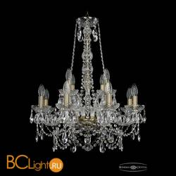 Люстра Bohemia Ivele Crystal 1411/8+4/195/h-70/Pa