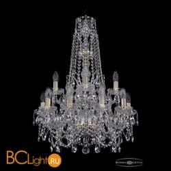 Люстра Bohemia Ivele Crystal 1411/10+5/195/XL-80/2d/G