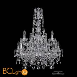 Люстра Bohemia Ivele Crystal 1411/10+5/195/h-77/2d/Ni