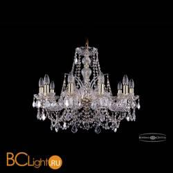 Люстра Bohemia Ivele Crystal 1411/10/240/G/Leafs