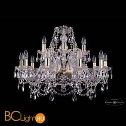 Люстра Bohemia Ivele Crystal 1411/10+5/240/G
