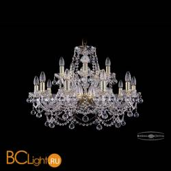 Люстра Bohemia Ivele Crystal 1411/10+5/240/G/Balls