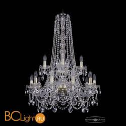 Люстра Bohemia Ivele Crystal 1411/10+5/240/h-94/2d/G