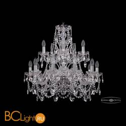 Люстра Bohemia Ivele Crystal 1411/10+5/240/2d/Ni