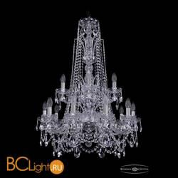 Люстра Bohemia Ivele Crystal 1411/10+5/240/XL-94/2d/Ni