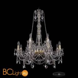 Люстра Bohemia Ivele Crystal 1411/8+4/240/h-83/G