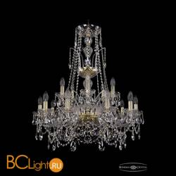 Люстра Bohemia Ivele Crystal 1411/10+5/240/XL-86/G
