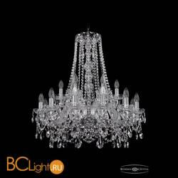 Люстра Bohemia Ivele Crystal 1411/12+6/240/h-80/Ni