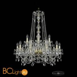 Люстра Bohemia Ivele Crystal 1411/10+5/240/h-84/G