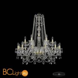 Люстра Bohemia Ivele Crystal 1411/12+6/300/h-94/G