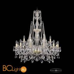 Люстра Bohemia Ivele Crystal 1411/12+6/300/XL-96/G