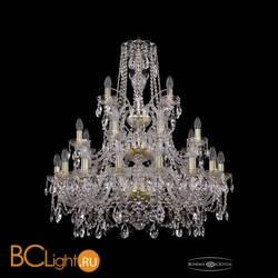Люстра Bohemia Ivele Crystal 1411/16+8+4/300/3d/G