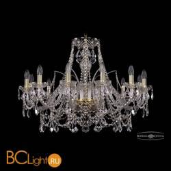 Люстра Bohemia Ivele Crystal 1411/12/300/G/Leafs