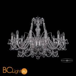 Люстра Bohemia Ivele Crystal 1411/12/300/Ni/Balls