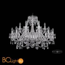 Люстра Bohemia Ivele Crystal 1411/12+6/300/Ni