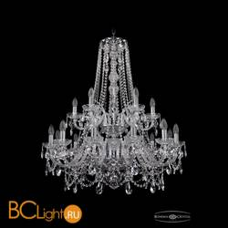 Люстра Bohemia Ivele Crystal 1411/12+6/300/h-93/2d/Ni