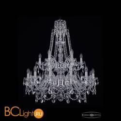 Люстра Bohemia Ivele Crystal 1411/12+6/300/XL-99/2d/Ni