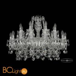 Люстра Bohemia Ivele Crystal 1411/16+8/300/Ni