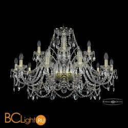 Люстра Bohemia Ivele Crystal 1411/10+5/360/G