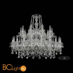 Люстра Bohemia Ivele Crystal 1411/20+10/360/2d/Ni