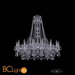 Люстра Bohemia Ivele Crystal 1411/16/360/h-95/Ni