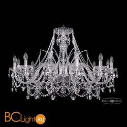Люстра Bohemia Ivele Crystal 1411/12/360/Ni