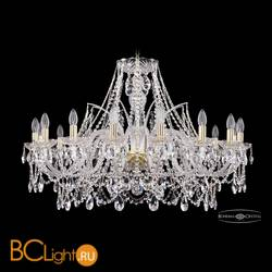 Люстра Bohemia Ivele Crystal 1411/16/360/G