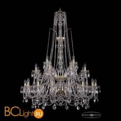 Люстра Bohemia Ivele Crystal 1411/16+8+4/400/XL-150/2d/G