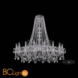 Люстра Bohemia Ivele Crystal 1411/18/400/h-113/Ni