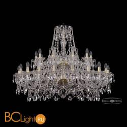 Люстра Bohemia Ivele Crystal 1411/20+10/400/2d/G