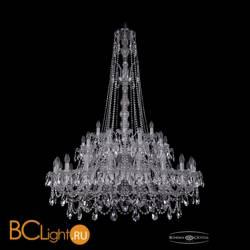 Люстра Bohemia Ivele Crystal 1411/20+10+5/400/XL-155/2d/Ni