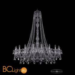 Люстра Bohemia Ivele Crystal 1411/20/460/h-151/Ni