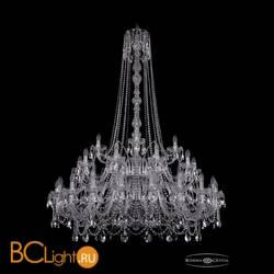 Люстра Bohemia Ivele Crystal 1411/20+10+5/460/h-175/2d/Ni